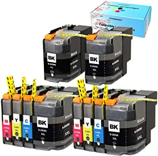 F FINDERS&CO Compatible Ink Cartridges Replacement for Brother LC20E LC-20E XXL Ink, Use with Brother MFC-J775DW MFC-J985D...