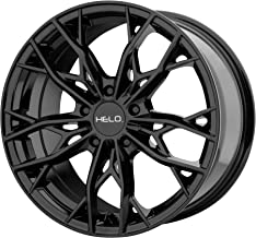 HELO HE907 GLOSS BLACK HE907 18x8 5x120.00 GLOSS BLACK (40 mm) rims