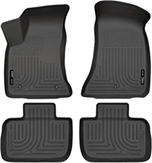 Husky Liners Fits 2011-19 Chrysler 300 RWD, 2011-19 Dodge Charger RWD Weatherbeater Front & 2nd Seat Floor Mats