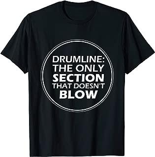 Funny Drumline Tshirt Marching Band Shirt Drumline Music Tee
