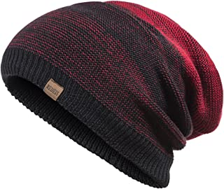 4fedc335376 REDESS Slouchy Long Oversized Beanie Hat for Women and Men