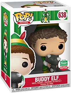 Funko POP! Movies: Elf - Buddy Elf [With Raccoon] #638 - Funko's [2018] 12 Days Of Christmas Exclusive!
