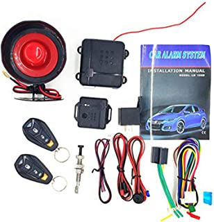 CarBest L401 3-Channel 1-Way Car Alarm Vehicle Security Keyless Entry System