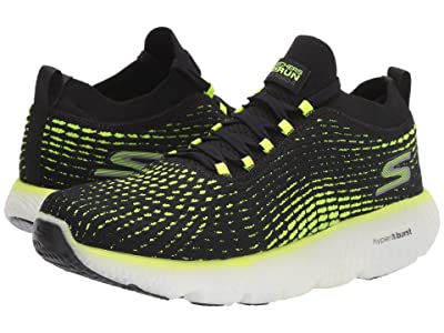 SKECHERS Max Road 4 (Black/Lime) Men