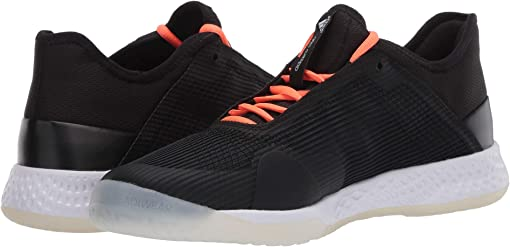 Core Black/Signal Coral/Footwear White