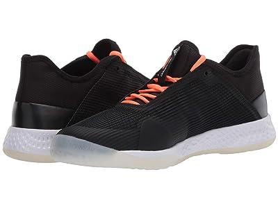 adidas Adizero Club (Core Black/Signal Coral/Footwear White) Men