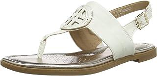 Clarks Reyna Glam, Sandale Plate Femme