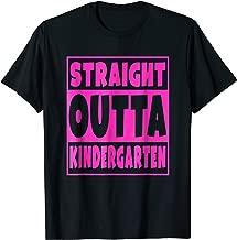 Straight Outta Kindergarten T-Shirt Graduation Class Gift