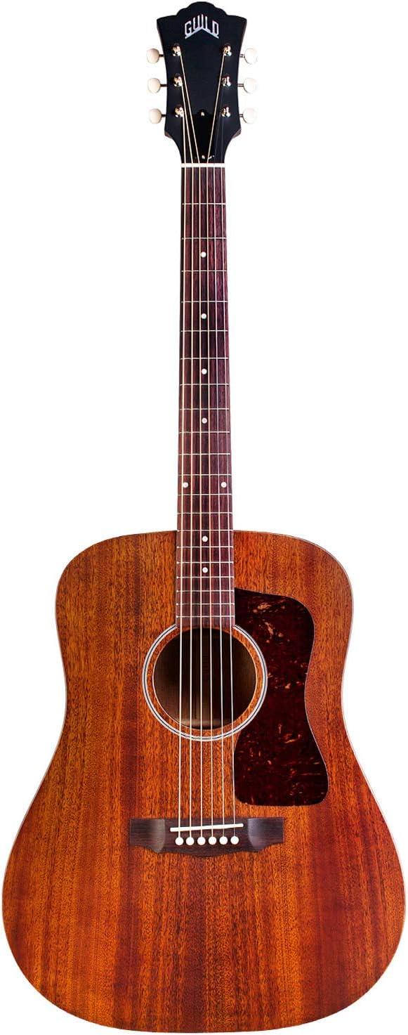 Guild D-20 Dreadnought - Guitarra acústica, color natural