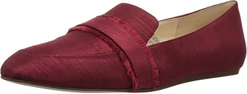 Nine West West West Wohommes BARUTI Fabric Loafer Flat, rouge, 12 Medium US 710