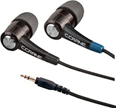 C. Crane CC Buds-Pro Full Stereo in-Ear Earbud Headphones – for Audio Books and Voice Clarity