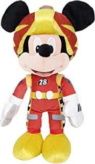 Disney Plush Roadster Mickey Racing - 10 inch