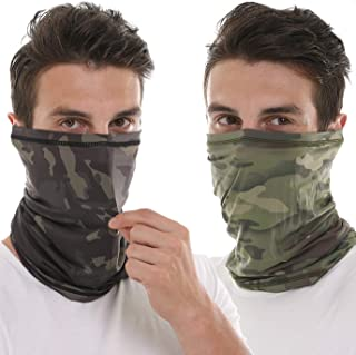 Neck Gaiter Mouth Face Cover Mask Dust Wind Sun UV Protection Outdoor Sports
