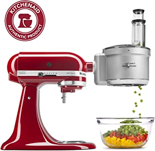 KitchenAid KSM2FPA Food Processor Attachment with Commercial Style Dicing Kit