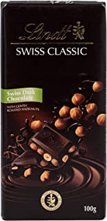 Lindt Swiss Classic Dark Hazelnut, 100 Gm