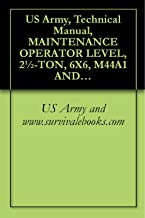 US Army, Technical Manual, MAINTENANCE OPERATOR LEVEL, 2½-TON, 6X6, M44A1 AND M44A2 SERIES TRUCKS, (MULTIFUEL), TRUCK, CARGO: M35A1, M35A2, M35A2C, M36A2; ... POLESETTING: M764, TM 9-2320-209-10-4, 1980