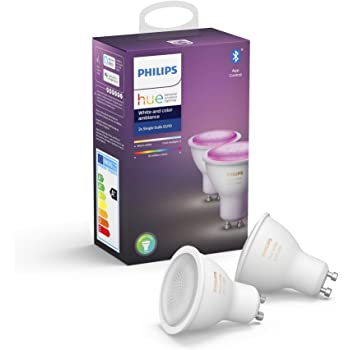Philips Hue White and Color Ambiance - Kit de 3 bombillas LED GU10 ...