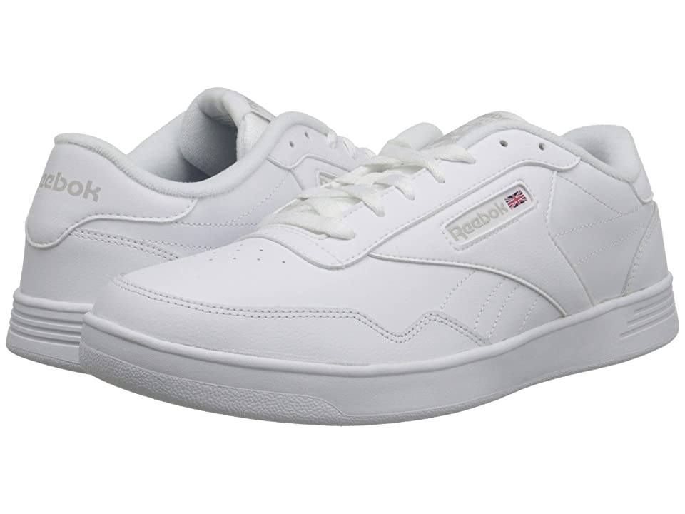 ... UPC 889133995359 product image for Reebok Club Memt (White Steel) Men s  Classic Shoes ... ed5b8f3a3