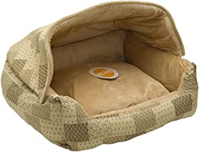 K&H Pet Products 7610 Hooded Lounge Sleeper Pet Bed