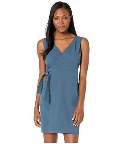 United By Blue North Wind Wrap Dress (Orion Blue) Women
