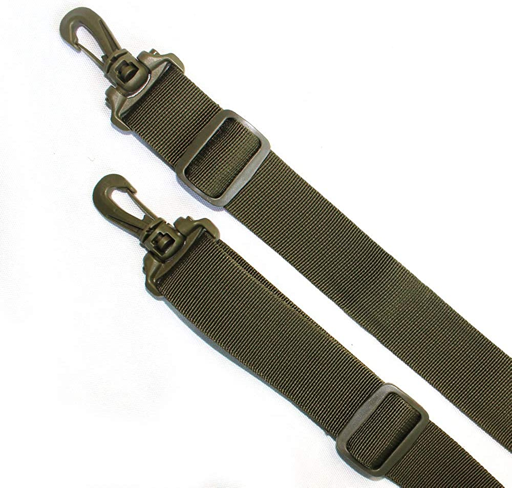 Tactical Duty Belt Harness Padded Adjustable Tool Belt Suspenders with Key Chin and Velcro Patch