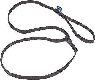ドッグ・ギア スリングリード プロ スリング幅12mm ブラック 「上質なスリングを使ったコンテスト出場犬向けドッグリードです」