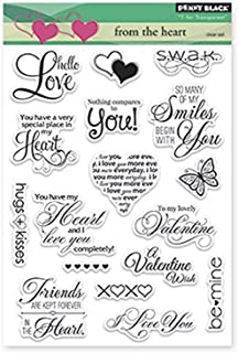 Penny Black from The Heart Decorative Stamp