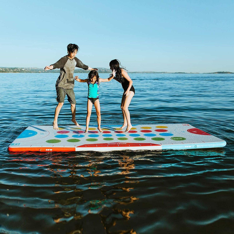 品質検査済 Driftsun Inflatable 本店 Floating Mat Pad - Game