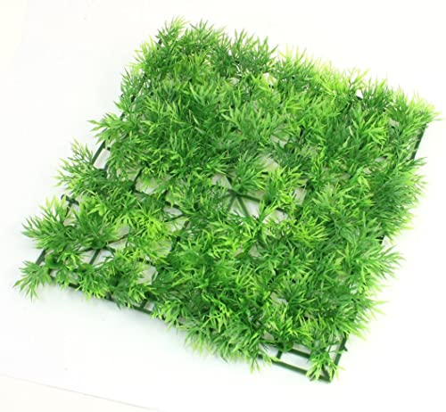 """high quality Mallofusa 9.1"""" x 9.1"""" Green lowest Square popular Artificial Grass Lawn for Fish Tank outlet sale"""