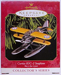 Hallmark Keepsake Ornament - Curtiss R3C-2 Seaplane, Sky's the Limit, Third in Series 1999 (QX6387)