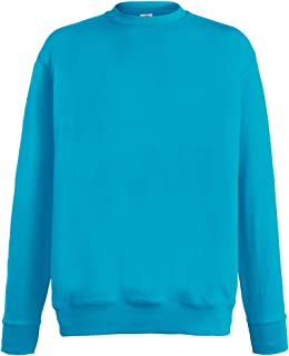 Fruit of the Loom Lightweight Set-in Sweatshirt - 14 Colours/Size Sml-2XL