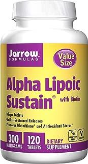 Jarrow Formulas Alpha Lipoic Sustain Supports Cardiovascular Health, 3.36 Ounce