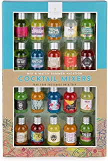 Modern Gourmet Foods, Mix and Match Cocktail Mixer Mini Sampler, Flavours Include Appletini, Blue Hawaiian, Margarita and ...