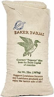 Baker Farms, Gourmet Louisiana Popcorn Rice, 2 lb Sack