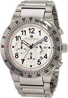 ساعة اوغست شتاينر للرجال - انالوج بسوار معدني - AS8097SSB