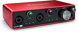 Focusrite Scarlett 4i4 (3rd Gen) USB Audio Interface with Pro Tools | First
