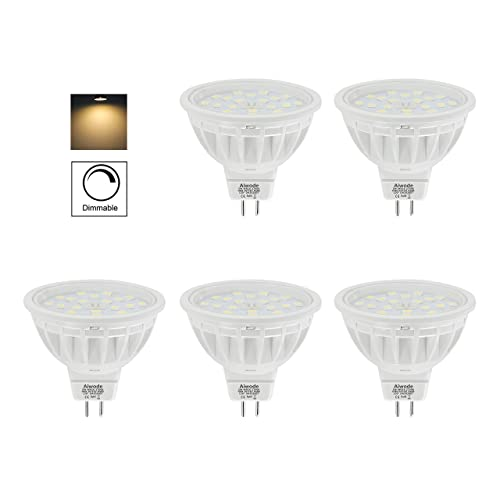 Dimmable 5W GU10 LED Bulb Equivalent 50W Natural White 4000K Ra85 600LM 120 Beam
