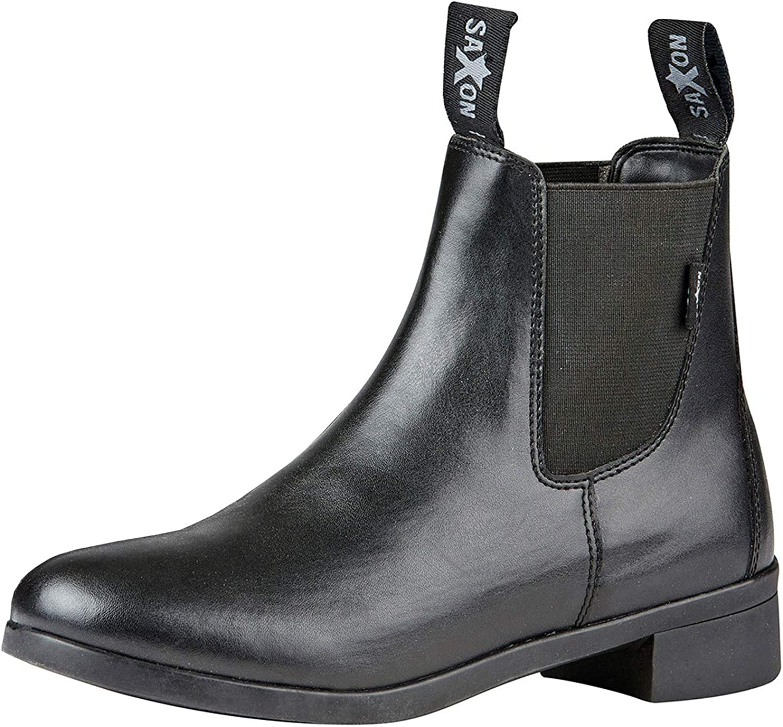 Saxon Childrens/Kids Syntovia Jodhpur Boots