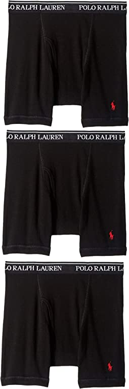 402f0ffb7 Polo Ralph Lauren. Classic Fit w  Wicking 3-Pack Boxer Briefs.  29.99MSRP    42.50. 3 Black RL2000 Red PP