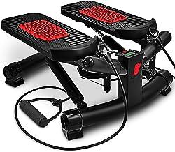 Sportstech 2in1 twister stepper met power ropes - STX300 turnstepper en sidestepper voor beginners en gevorderden, up-down...