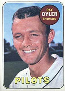 1969 Topps #178 Ray Oyler Seattle Pilots Baseball Card