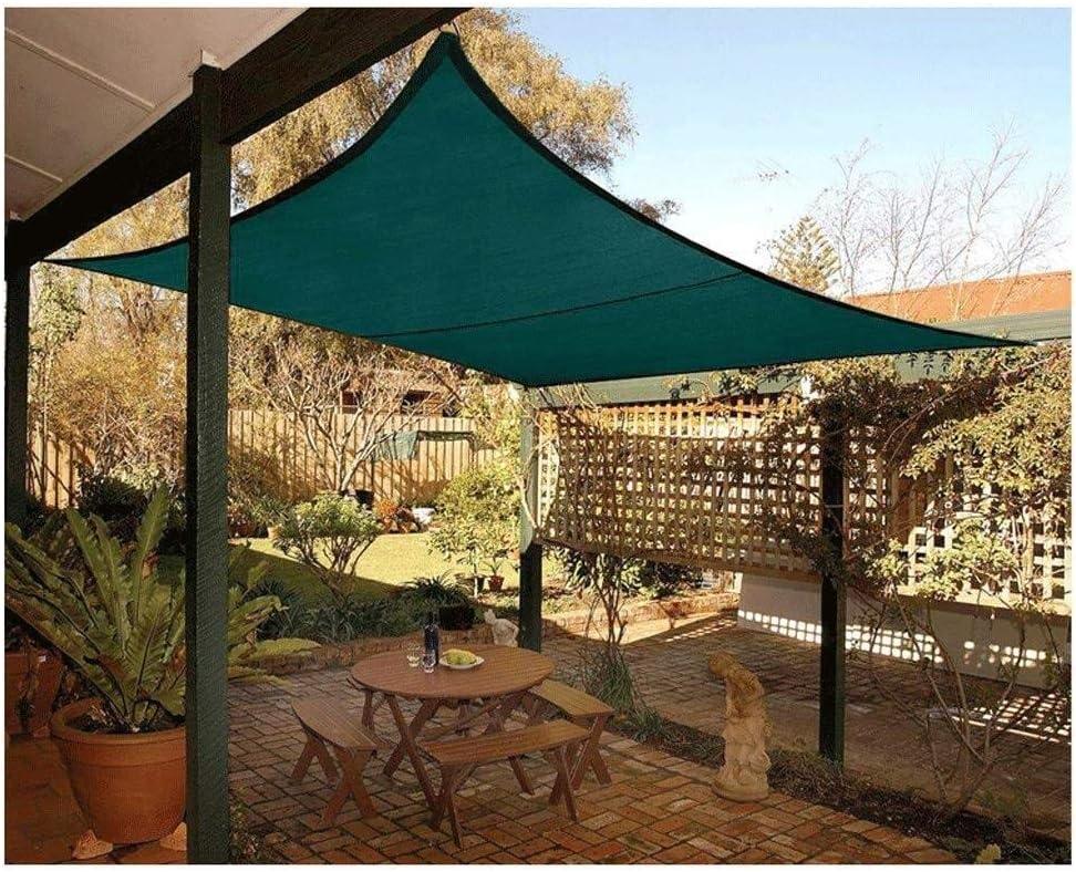 El sombreado verde de tela jardín de la sombra de toldos de ...