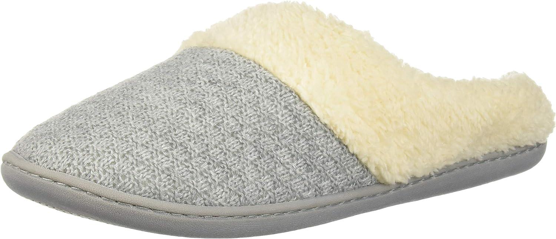 Dearfoams Df Women's Sweater Knit Slipper