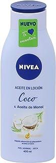 NIVEA aceite en loción coco piel normal seca bote 400 ml