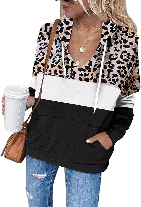 Vedolay Women Long Sleeve Tops,Womens Casual Crewneck Sweatshirt Fashion Print Loose Long Sleeve Pullover Tshirts