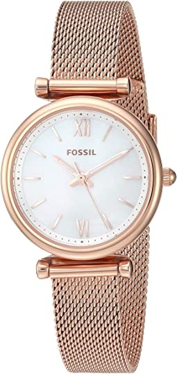 ES4433 Rose Gold Stainless Steel Mesh