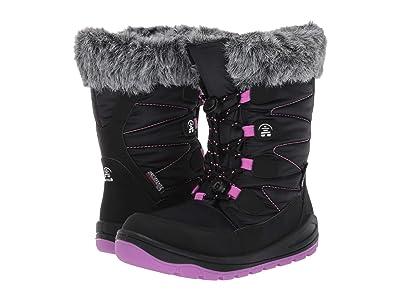 Kamik Kids Novina (Little Kid) (Black/Orchid) Girls Shoes
