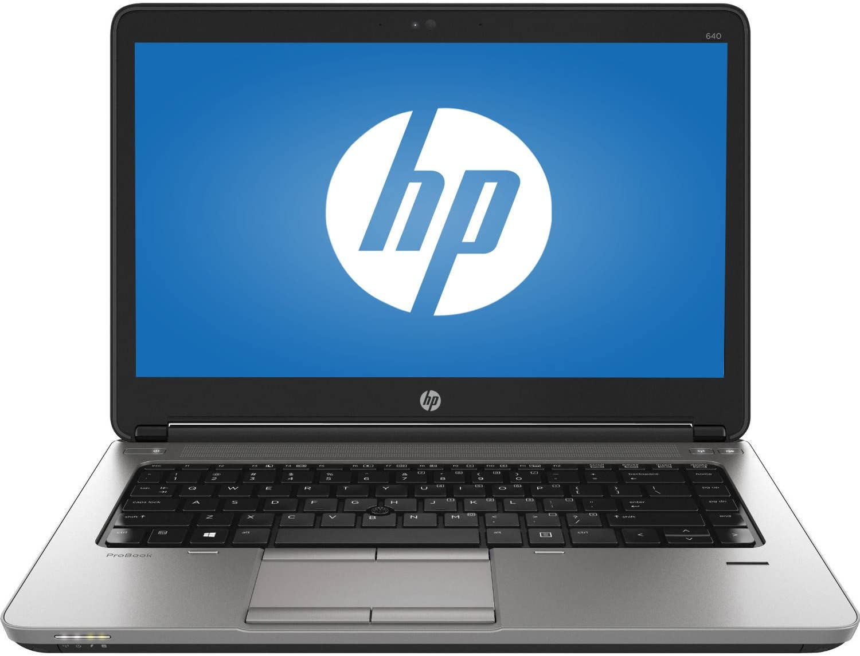 HP ProBook 640 G1 14in HD Anti-Glare Notebook Laptop, Intel Core I5-4200M Up to 3.1GHz, 8GB RAM, 500GB HDD, Windows 10 Professional (Renewed)