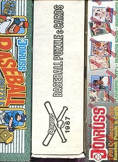 1987 1990 1991 Donruss Baseball Card Complete Box set Collection FACT READ DESC