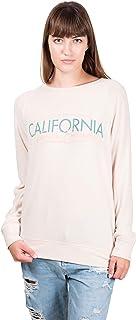 Brooklyn Cloth Women's California Bear Hacci Raglan Printed Sweatshirt